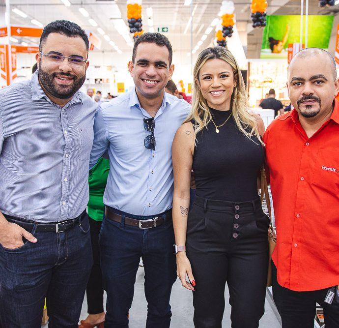 Yure Alencar, Danilo Sena, Livia Albuquerque E Marcio Coelho
