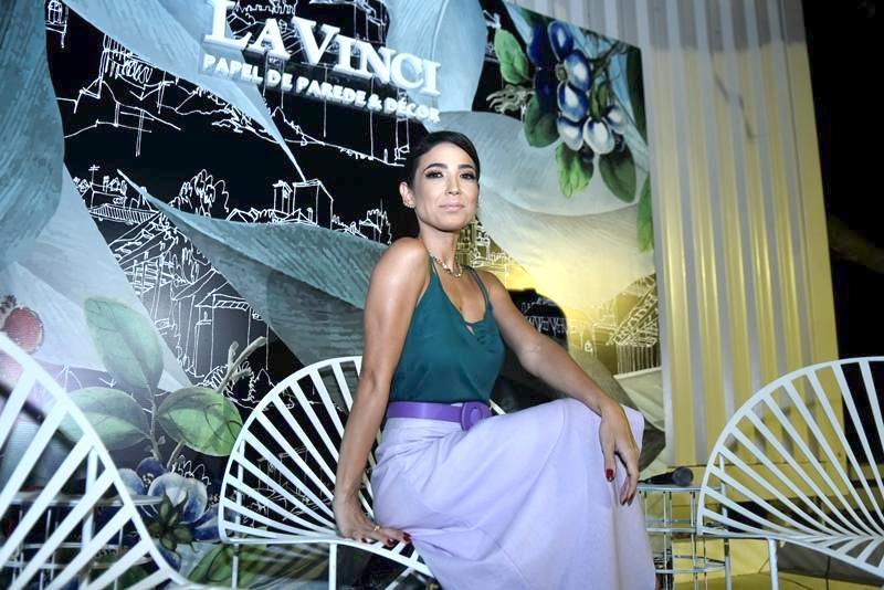 Renata Marinho aposta suas fichas na nova linha de papeis de parede infantil da La Vinci