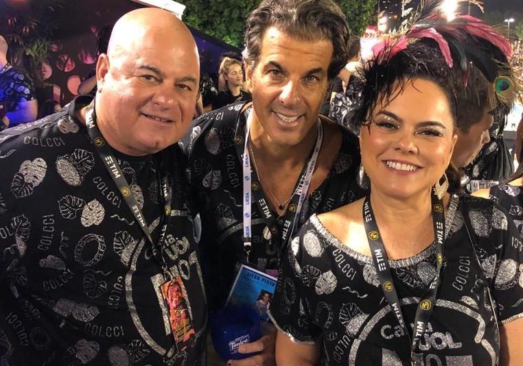 Luciano Cavalcante, Álvaro Garnero e Denise Lucena Cavalcante