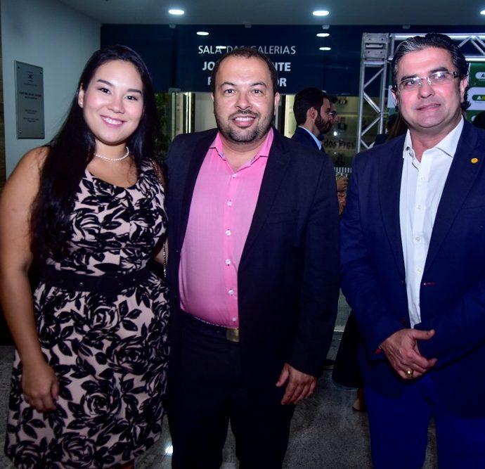 Aileen Lima, Fabiano Távora e José Jorge Vieira