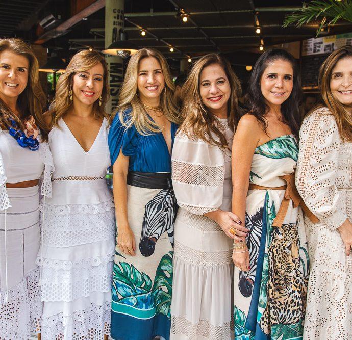 Alexandra Pinto, Leticia Macedo, Karmilse Marinho, Martinha Assuncao, Maria Lucia Negrao E Cristiane Figueiredo