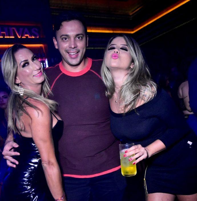Aline Bastos, Augusto Souza, Beatriz Campos
