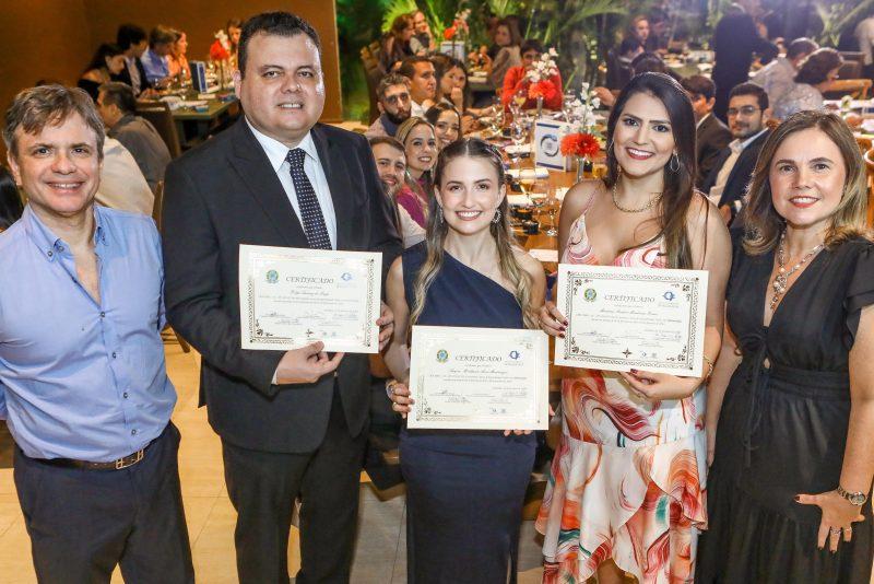 Andre Machado, Felipe Queiroz, Anyssa Montenegro, Mariana Studart E Gina Machado (2)