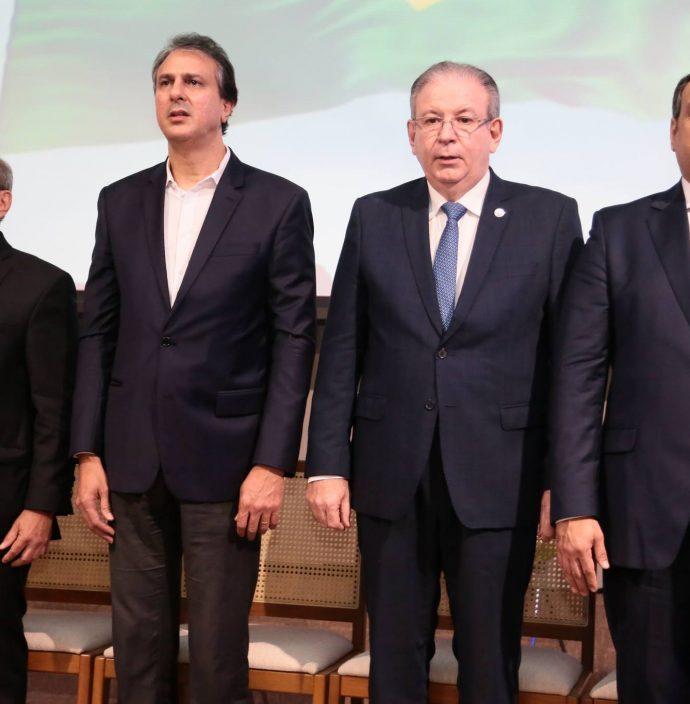 Andre Montenegro, Camilo Santana, Ricardo Cavalcante E Patriolino Dias