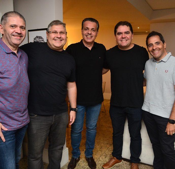 André Rocha, Carlos Henrique, Leonardo Dall'olio, Rodrigo Aquino E Atila Fernandes