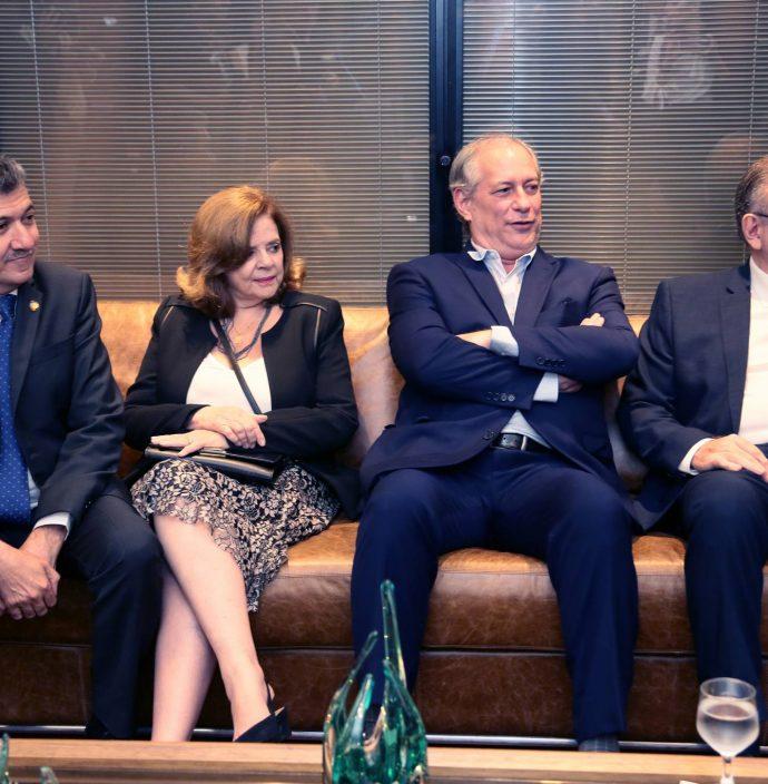 Antonio Henrique, Roseane Medeiros, Ciro Gomes E Ricardo Cavalcante