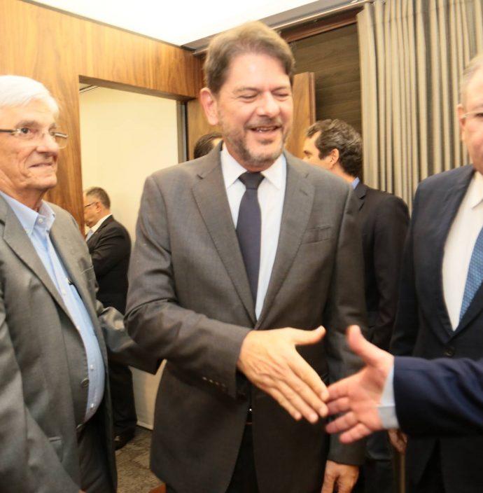 Assis Machado, Cid Gomes E Ricardo Cavalcante