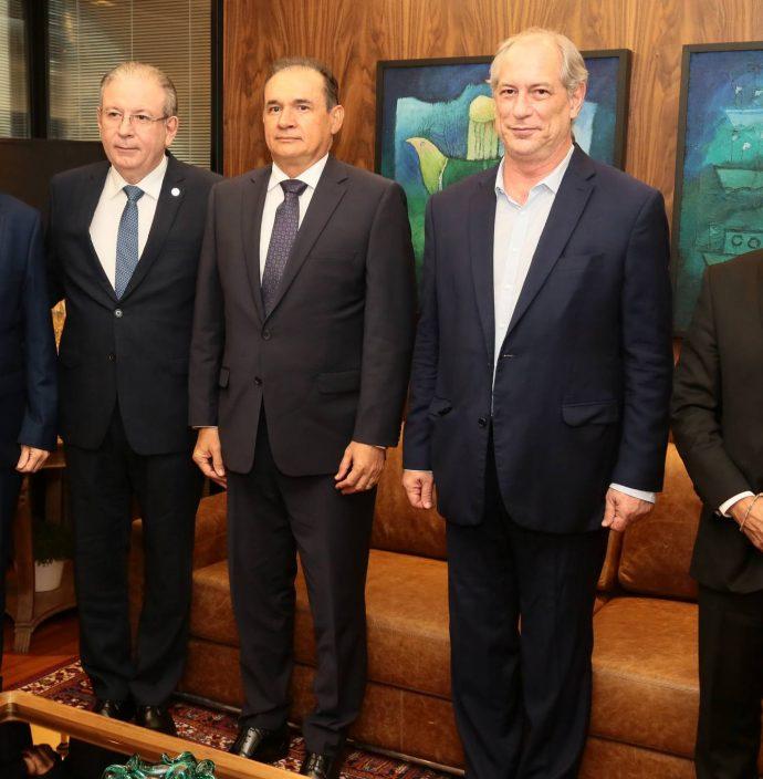 Augostinho Alcantara, Ricardo Cavalcante, Washington Luiz, Ciro Gomes E Andre Montenegro