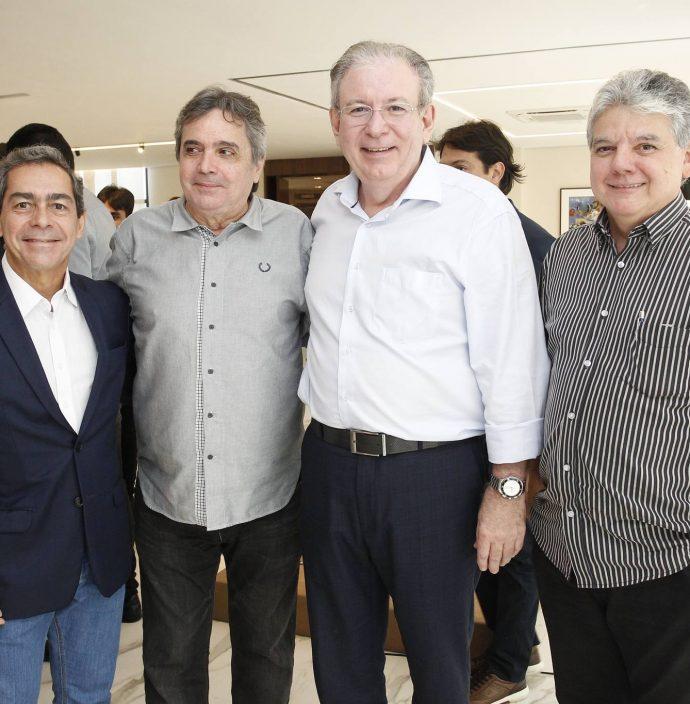 Augusto Martins, Totonho Laprovitera, Ricardo Cavalcante E Chico Esteves