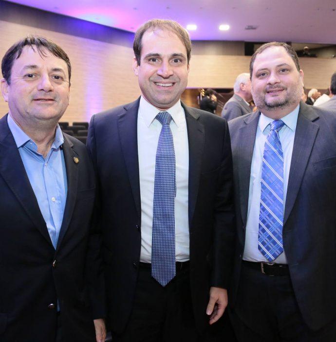 Benigno Junior, Salmito Filho E Reinaldo Salmito