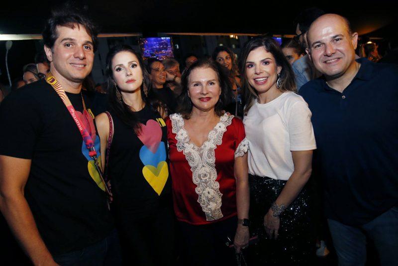 Benjamin E Carla Oliveira, Renata Jereissati, Carol E Roberto Claudio Bezerra