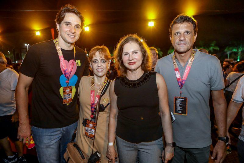 Benjamin Oliveira, Rachel Mendonça, Renata Jereissati E Welinghtom Oliveira