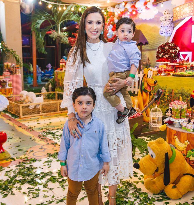 Bernardo, Giuliana E Otavio Botelho