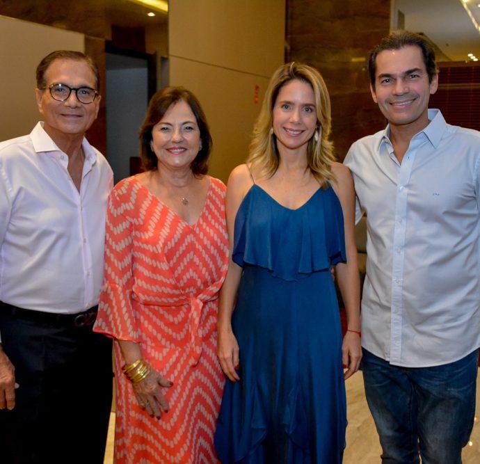 Beto E Ana Studart, Lina E Candido Pinheiro