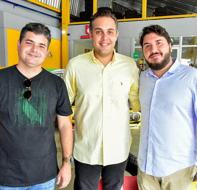 Bruno Pires, Bruno Bastos E Tiago Silva