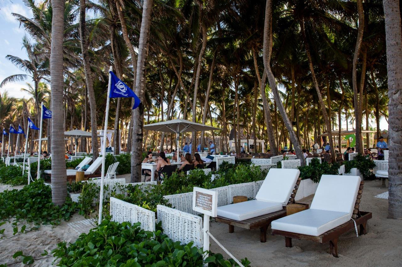 Repaginado, Bubble Lounge do Beach Park tem programação especial neste weekend