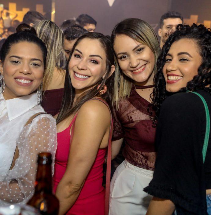Camila Kertle, Sara Barros, Talyne Oliveira E Janaina Garcia