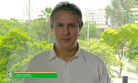 Camilo Santana condena atos de vandalismo e paralisação na PM