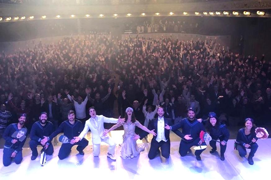 Cláudia Raia e Jarbas Homem de Melo encerram temporada de musical em Lisboa