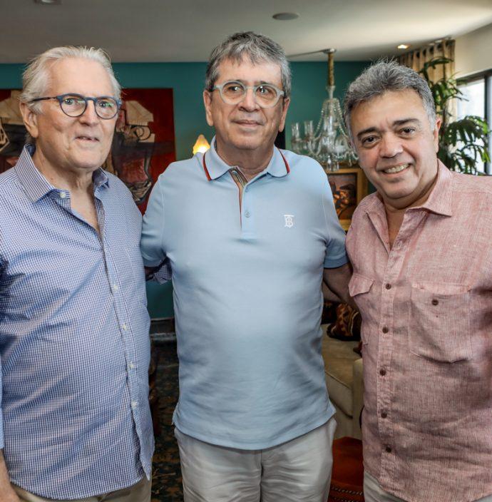 Carlos Castelo Branco, Marcio Tavora E Sergio Esteves