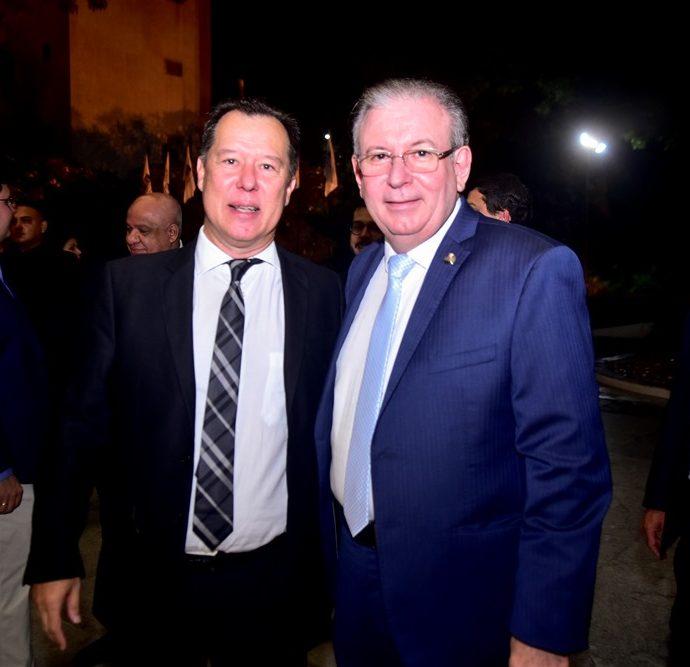 Carlos Fujita e Ricardo Cavalcante