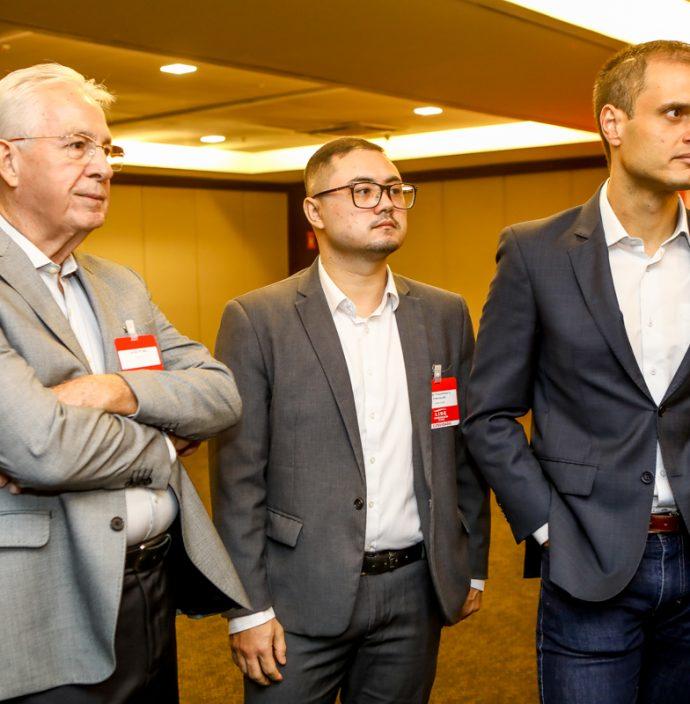 Carlos Prado, Luidy Yamawaki E Enio Leão