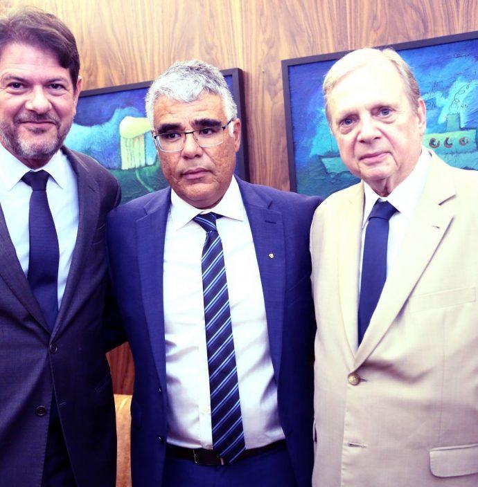 Cid Gomes, Luiz Eduardo Girao E Tasso Jereissati