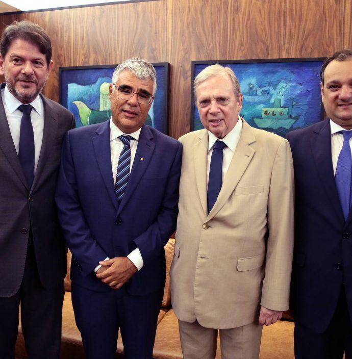 Cid Gomes, Luiz Eduardo Girao, Tasso Jereissati E Patriolino Dias