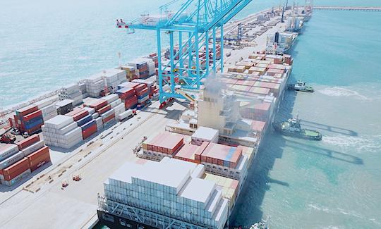 Porto do Pecém tem alta de 109% na movimentação de longo curso