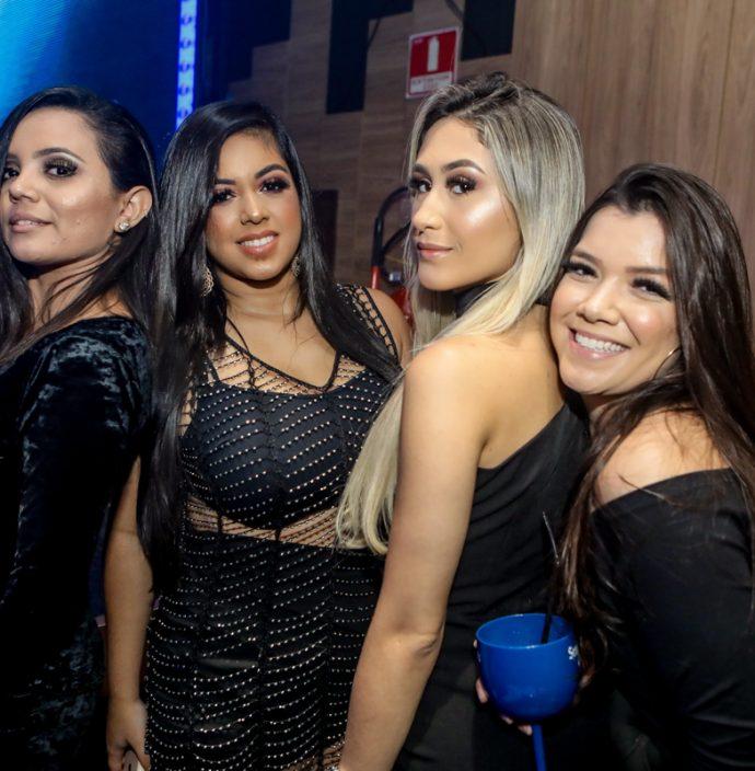 Clarice Costa, Michele Alves, Debora Lane E Aylane Araujo