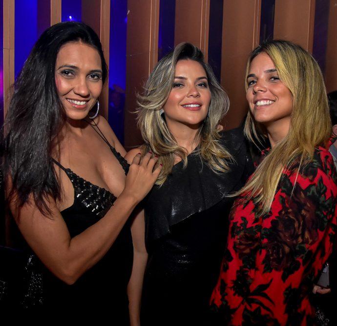 Clea Girão, Livia Baral E Anita Alcantara