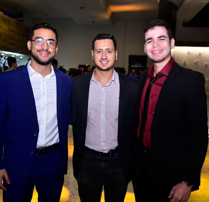 Daniel Cabral, Lucas De Melo, José Fárias