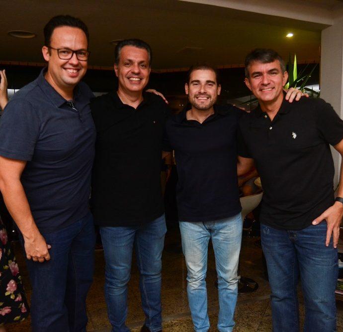 Daniel Joca, Leonardo Dall'olio, Henrique Coelho E João Paulo Holanda
