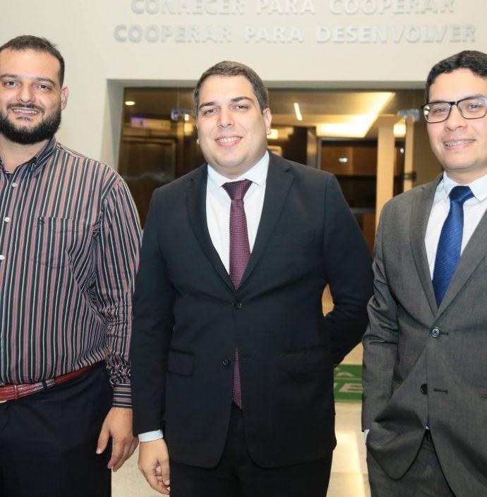 Daniel Moraes, Darlan Moreira E Luiz Fernando Bezerra