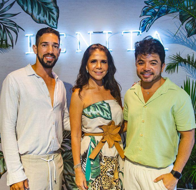 Danilo Amorim, Maria Lucia Negrao E Rafael Gualberto