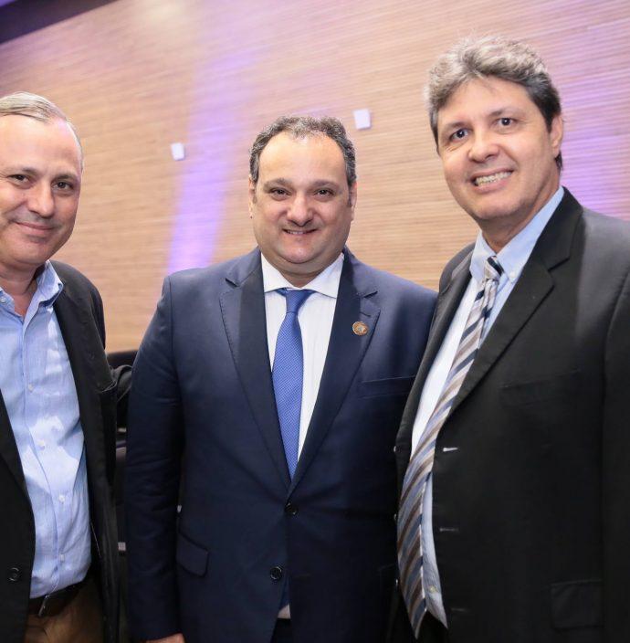 Darci Itibere, Patriolino Dias E Marcos Oliveira