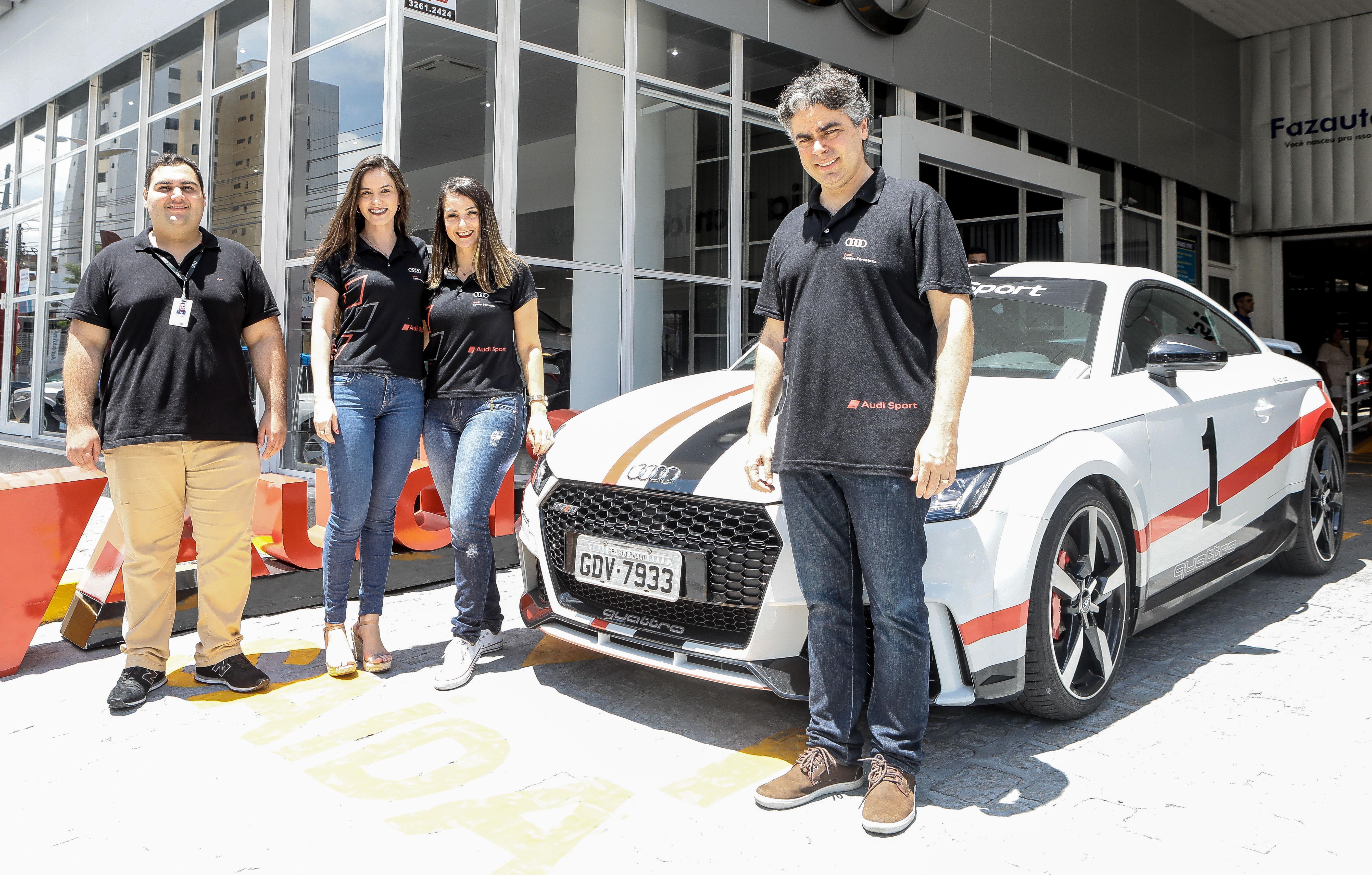 Fortaleza sedia a abertura da etapa brasileira da Audi Sport Experience 2020