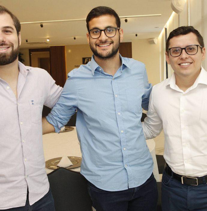 Davi Holanda, Davi Guanabara E Paulo Marcell