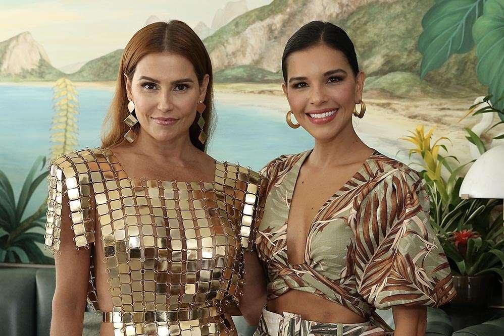 Musas do Camarote Allegria, Deborah Secco e Mariana Rios brilham em evento no Copacabana Palace