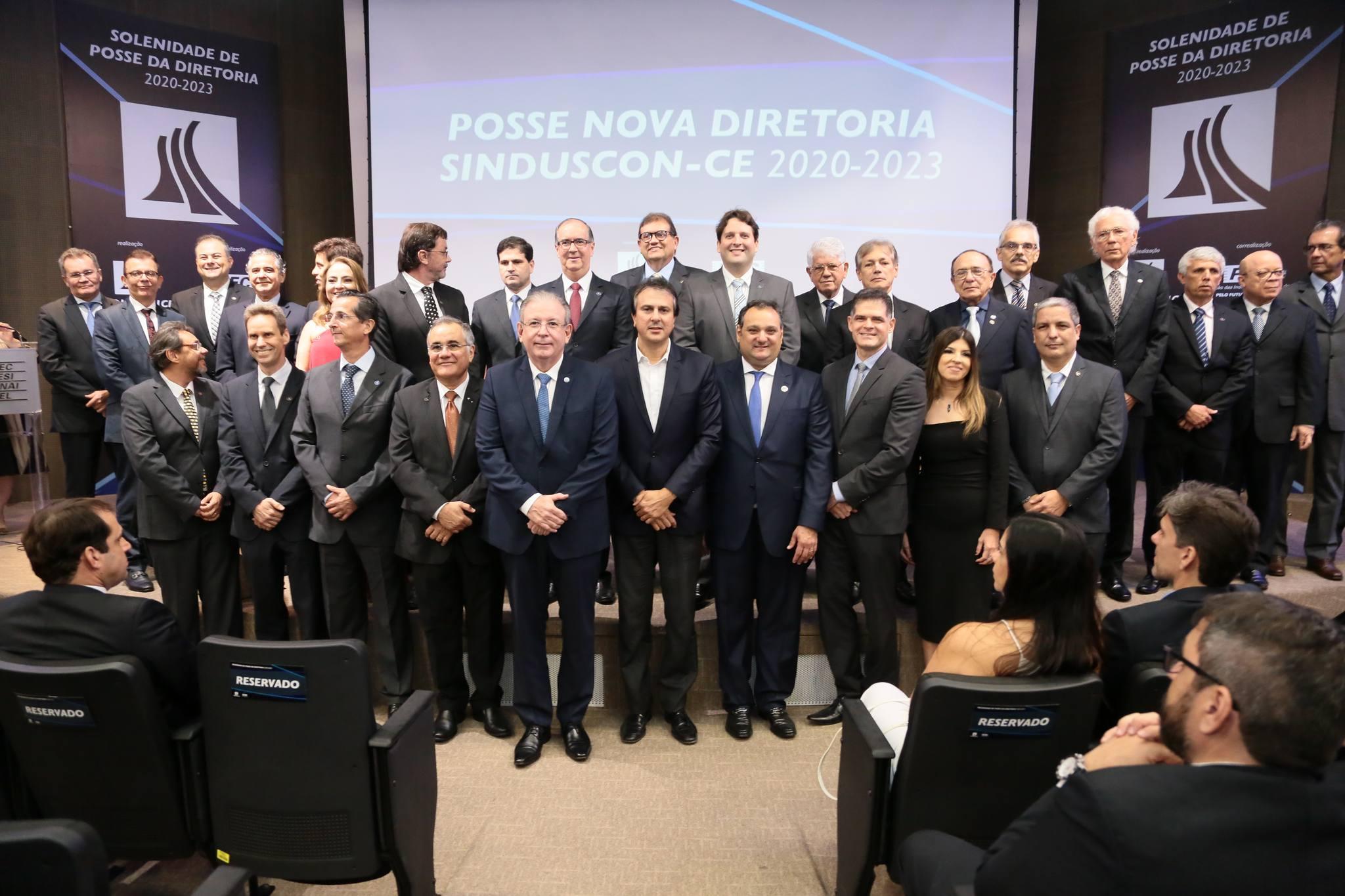 Patriolino Dias reúne o PIB cearense em sua posse na presidência do Sinduscon-CE
