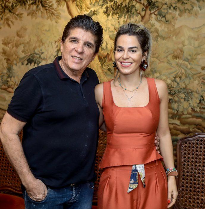 Dito Machado E Amanda Tavora