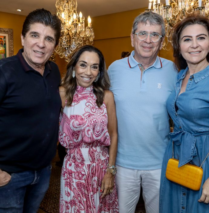 Dito Machado, Marcia E Marcio Tavora, Greice Leitao