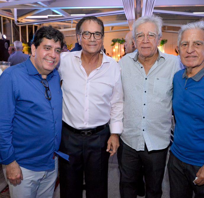 Dr. Cabeto Rodrigues, Beto Studart, Mino Castelo Branco E Oto De Sá Cavalcante