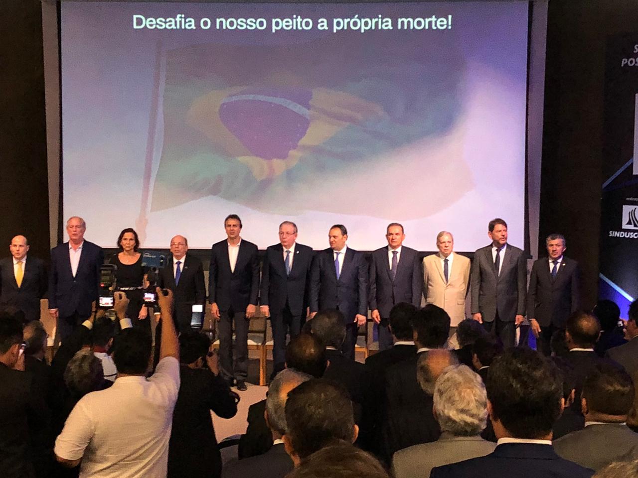 Posse de Patriolino Dias reúne o PIB político-empresarial do Ceará na Fiec