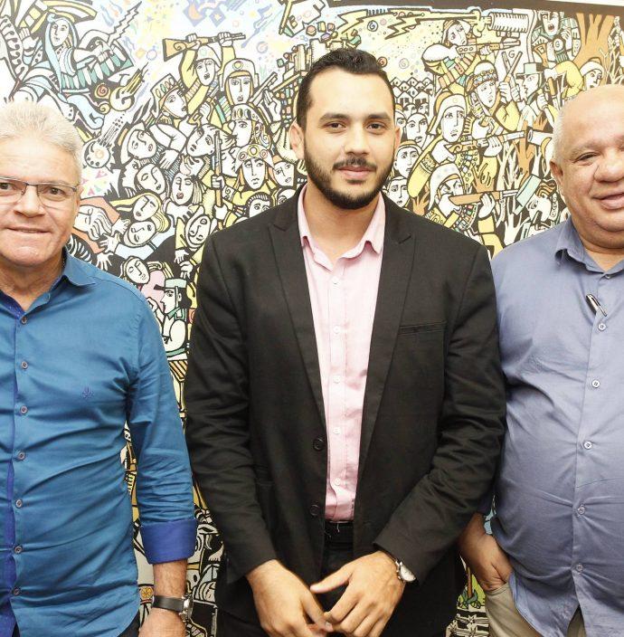 Edson Arouxe, Valdemir Alves E Pedro Alfredo