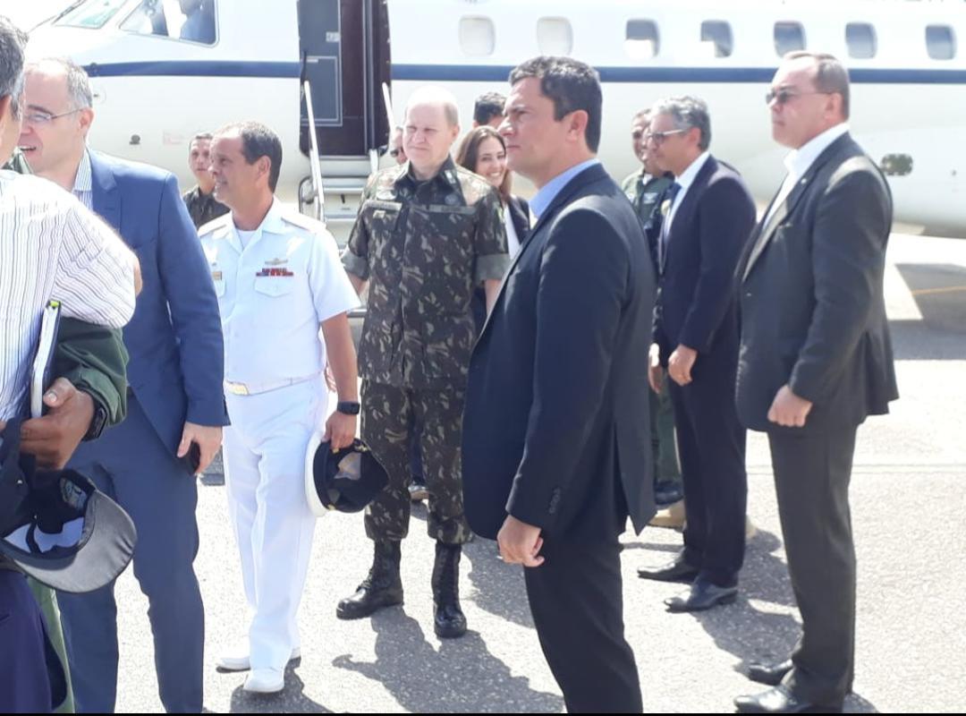 Moro se encontra com Camilo e diz que situação no Ceará está sob controle