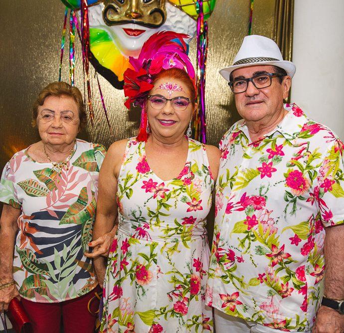 Eneida Fontenele, Vanja Fontenele E Lucio Pontes