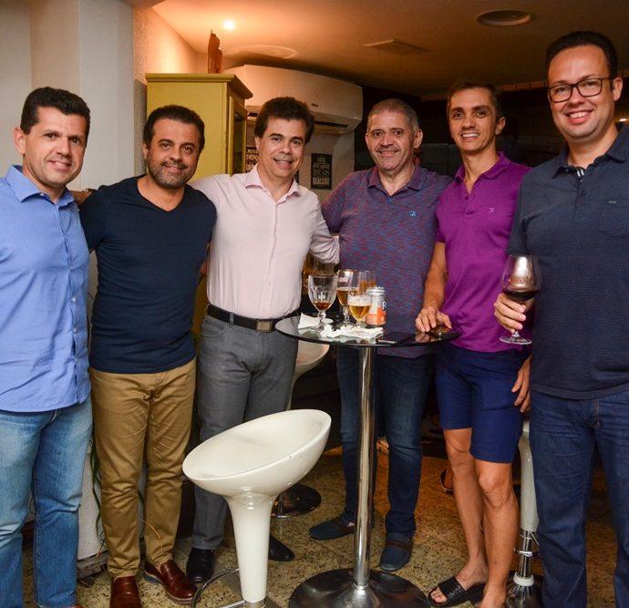 Erick Vasconcelos, Alan Bringel, Duda Brígido, André Rocha, Marcelo Marfrutas E Daniel Joca