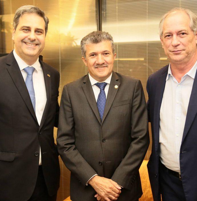 Erinaldo Dantas, Antonio Henrique E Ciro Gomes