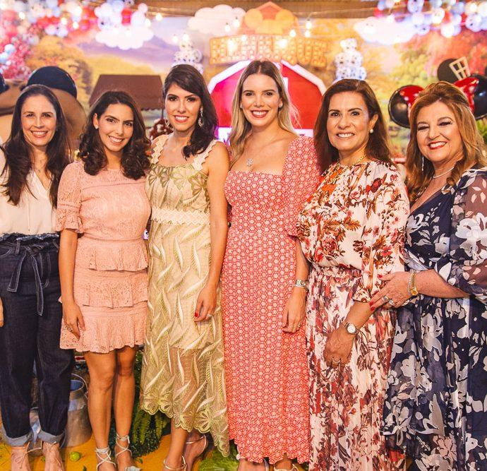 Fabiola Rocha, Carla Laprovitera, Flavia Laprovitera, Nathalia Ponte, Marcia Teixeira E Jaqueline Simoes